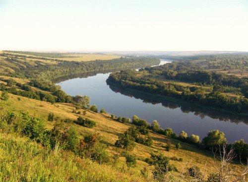 Река Северский Донец начала очищаться от загрязнения аммонием