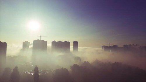 Киев попал в десятку городов с самым грязным воздухом в мире
