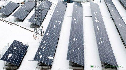На территории завода в Мелитополе возвели солнечную электростанцию
