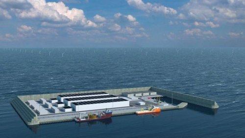 Дания планирует создать «энергетический» остров в Северном море