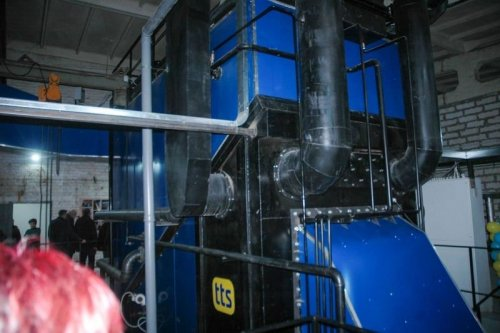 На Сумщині модернізована котельня працюватиме на біомасі