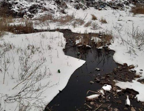 У Хмельницькому стічні води сміттєзвалища отруюють воду ставка в Озерній – екоінспекція