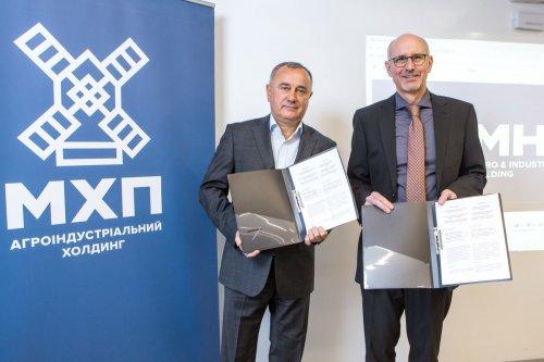 """МХП співпрацюватиме з німецькою компанією в галузі """"зеленого"""" водню"""
