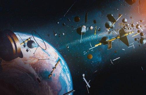 У космос запустили магніт для прибирання сміття