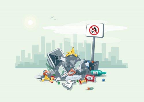 Штрафи за сміття в лісі та на узбіччі можуть зрости у 8-10 разів