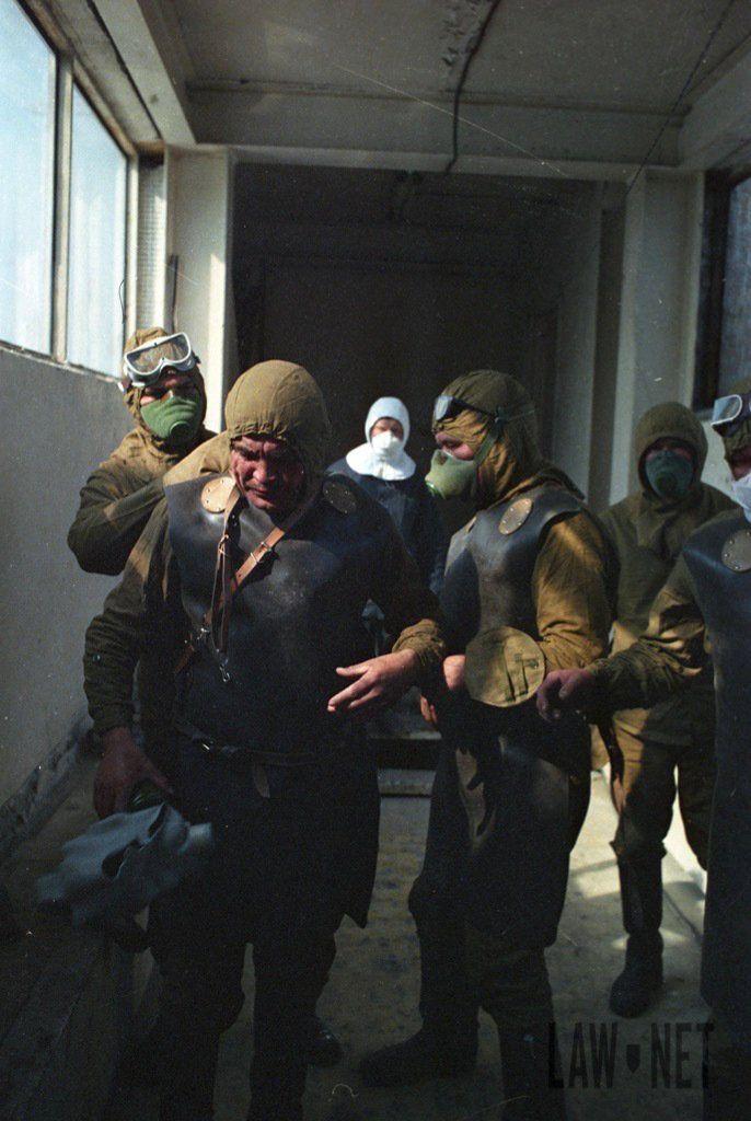 Исторические снимки ликвидации аварии на ЧАЭС и ее последствий