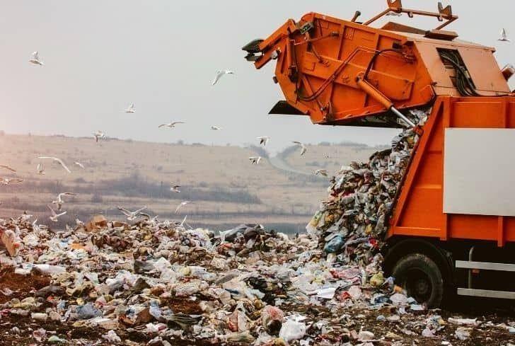 В Германии будут тестировать необычный мусоровоз. Фото