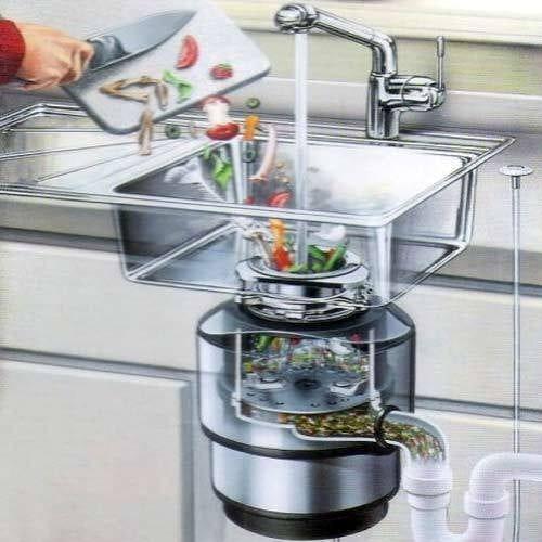 Почему вреден кухонный измельчитель для отходов