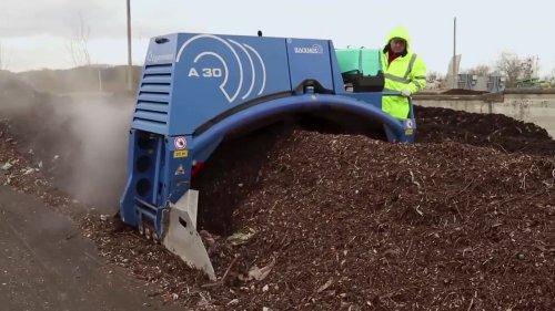 Как работает первая компостирующая станция в Украине: показали видео