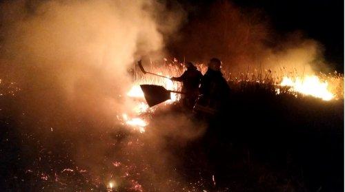 На Сумщині через паліїв трави згоріло 25 гектарів землі. Фото та відео