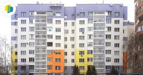 Жители старой панельки в Луцке модернизировали ее за средства ЕС. Фото