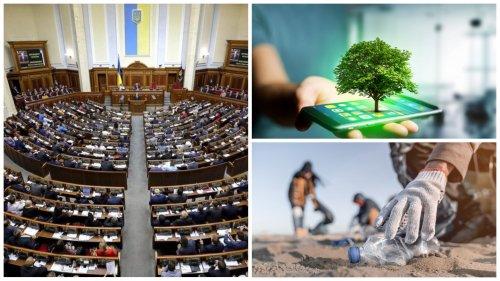 ТОП-5 резонансних екологічних законопроєктів, які нардепи мають проголосувати у 2021 році