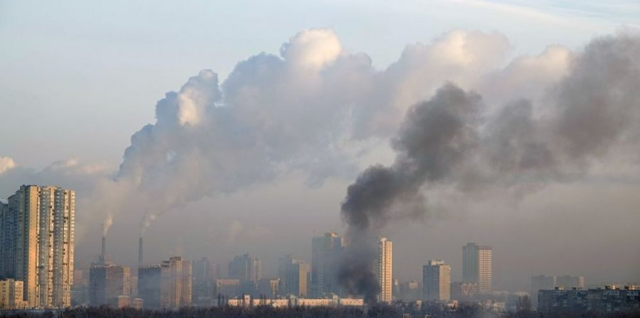 Загрязнение воздуха в Киеве в несколько раз превышает нормы, – эксперты