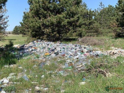 На курорті Миколаївщини виявили гори сміття. Фото