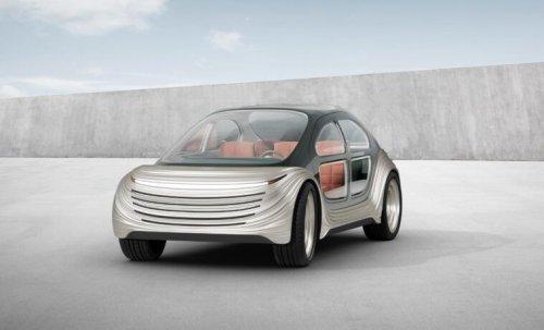 Презентували електромобіль від Alibaba, який очищує повітря