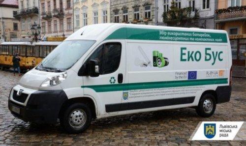 Во Львове возобновили работу экобусы: график стоянок на май