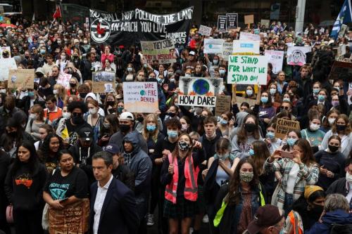 В Австралії учні вийшли на кліматичний страйк