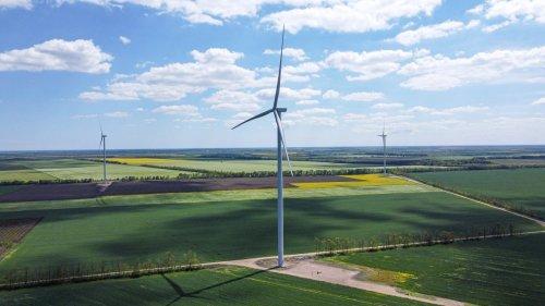 В Одесской области заработала Днестровская ветроэлектростанция. Фото