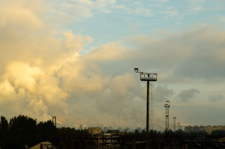 В воздухе Запорожья снова обнаружили токсичные вещества