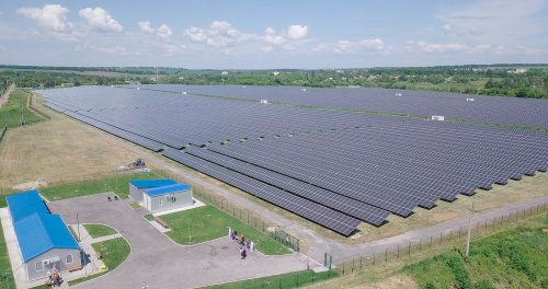 На Черкащині відкрили нову сонячну електростанцію. Фото та відео