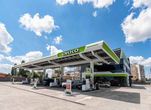 OKKO открыла в Одессе АЗК с солнечными панелями вместо крыши