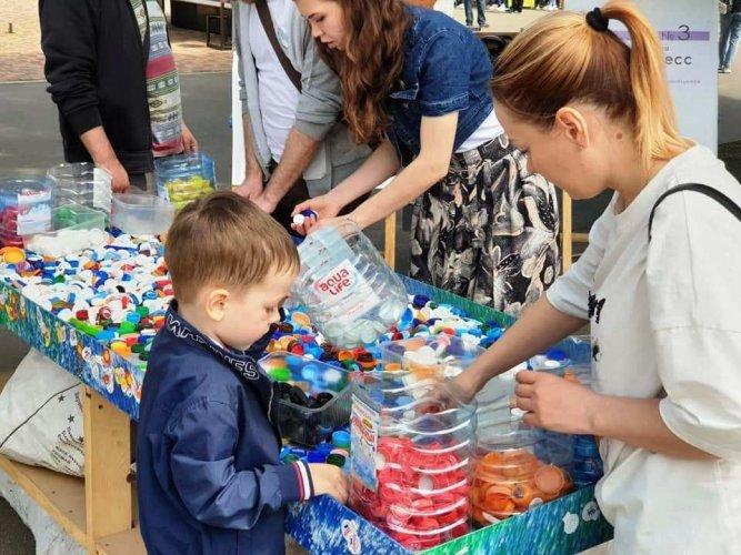 На экофестивале в Одессе собрали более 2 тонн отходов. Фоторепортаж