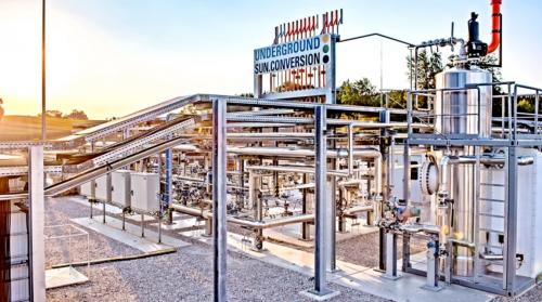 В Европе тестируют производство природного газа из энергии солнца и ветра
