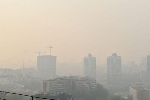 Пилова буря затримається в Києві на кілька днів