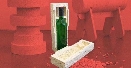 Німецькі вчені винайшли упаковку з поп-корну для крихких предметів