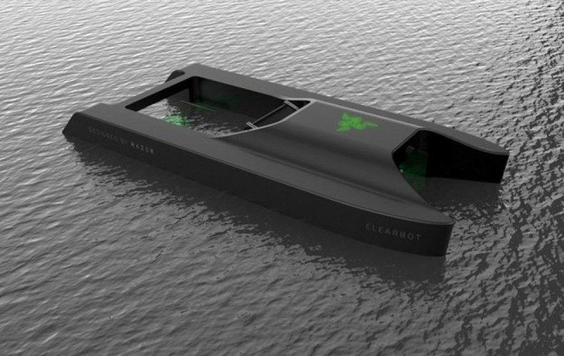 У Каліфорнії геймерська компанія створила робота для очищення океану. Фото, відео