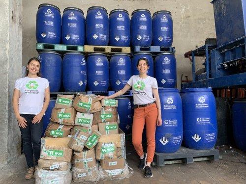 WOG відправить на переробку до Румунії майже тонну батарейок