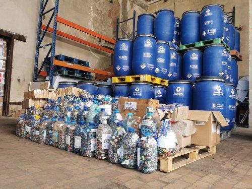 Майже 22 тонни батарейок з України відправили на переробку в Румунію