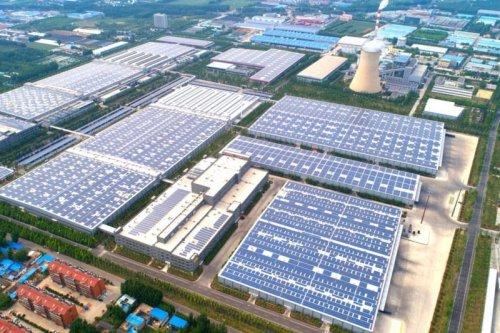 Крупнейшая в мире крышная солнечная электростанция заработала в Китае