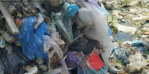 Біля села на Хмельниччині знову виявили стихійне сміттєзвалище. Фото