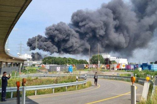 На химзаводе в Германии прогремел мощный взрыв. Видео
