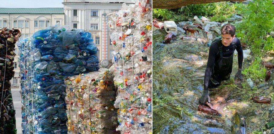 З річки на Харківщині волонтери дістали майже 50 тонн відходів