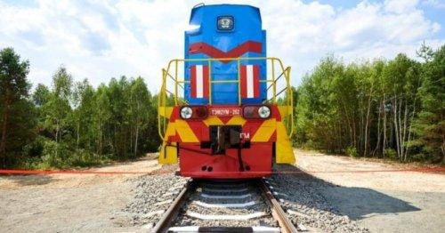 В Чернобыльской зоне восстановили железную дорогу для перевозки радиоактивных отходов