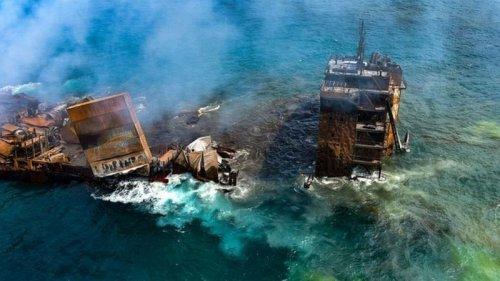 Екологічна катастрофа на Шрі-Ланці: через пожежу на кораблі судять капітана-росіянина