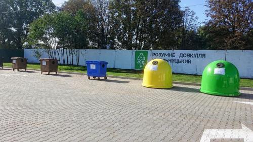 Хмельнитчане установили рекорд по сдаче отходов на переработку