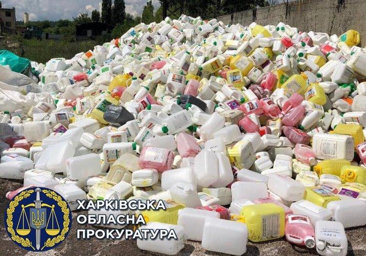 Харківський бізнесмен скидав відходи в річку та потрапив під слідство. Фото