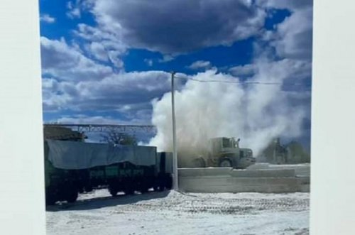 В Лисичанске требуют, чтоб бетонный завод прекратил загрязнять воздух