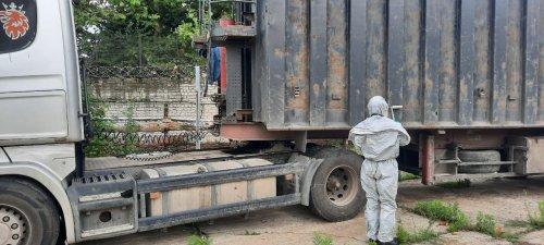 До Херсону завезли 40 тонн радіоактивного металобрухту з Полтави. Фото