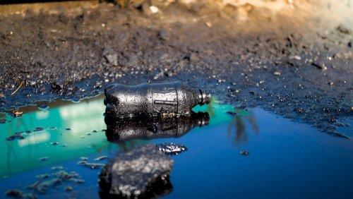 На Днепропетровщине обнаружили масштабное загрязнение почв: произошел разлив опасного вещества. Фото