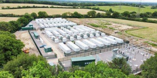 В Великобритании построили одну из крупнейших систем хранения энергии в Европе