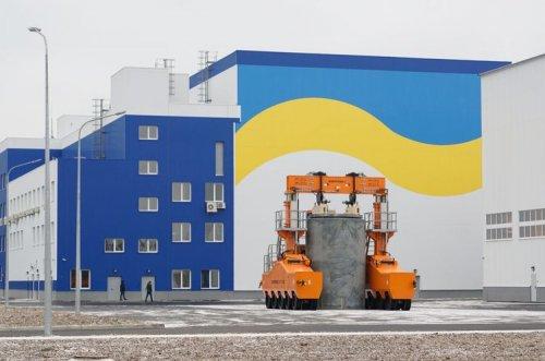 Украина открыла возле ЧАЭС собственное хранилище ядерных отходов. Фото