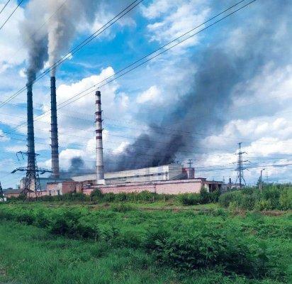 На Бурштынской ТЭС произошел пожар: по факту открыли уголовное производство