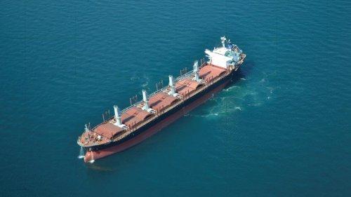 """""""Великі бурі плями"""": біля Одеси затримали іноземне судно, яке забруднило Чорне море"""