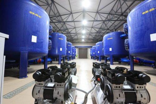 В Ирпене открыли крупнейшую в Киевской области станцию очистки воды. Фото, видео