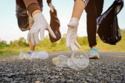 Супруги из Мукачево собрали 6 грузовиков мусора в Карпатах. Видео
