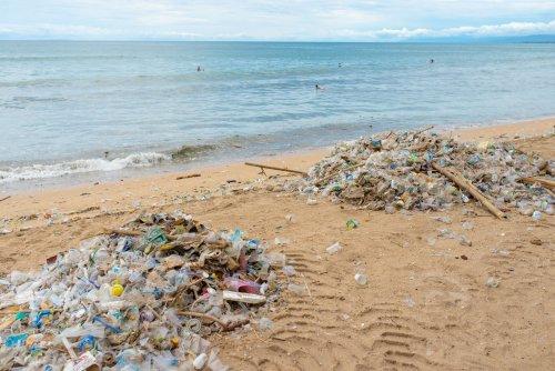 В Одесі показали, як пляжі потопають у смітті. Відео